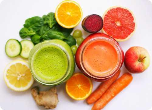 Детоксикация во время диеты