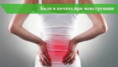 Боль в заднем проходе при месячных