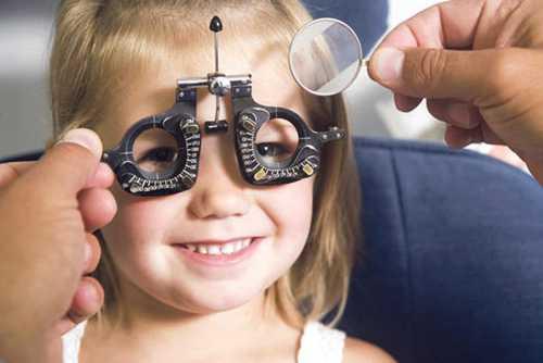 Почему при косоглазии назначают очки